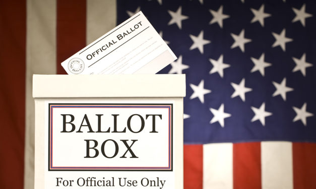 Liberty Voting Box Relocated