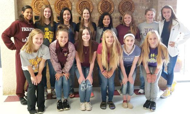 Meet Fairfield's New High School Cheerleaders