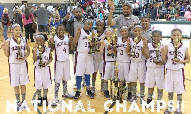 Fairfield Girls Little Dribblers Take National Champ Titles