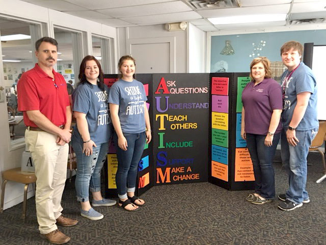 FCCLA Students Present State Leadership Project to Rotary Club
