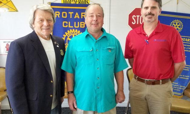 NASA Meteorologist Visits Fairfield Rotary