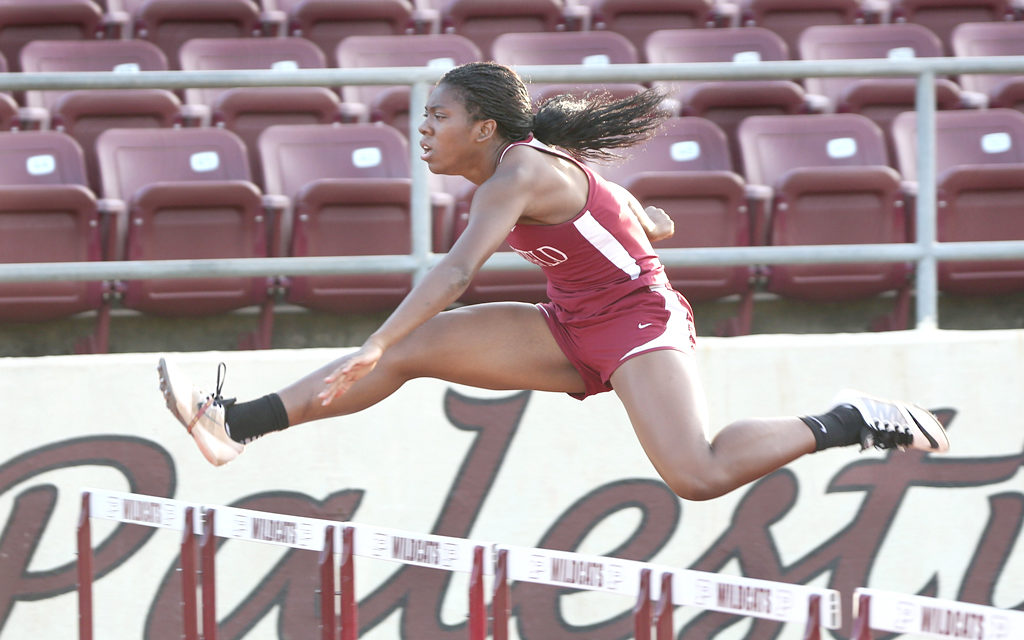 Eagle Track Team Shines in Palestine Meet