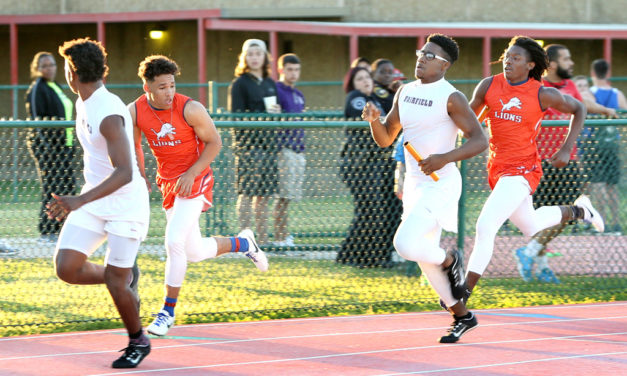 County Track Teams Race to District Meet