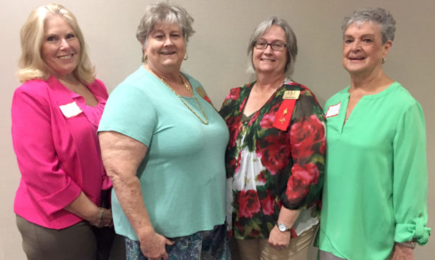 TAU Members Attend Founder's Day Luncheon