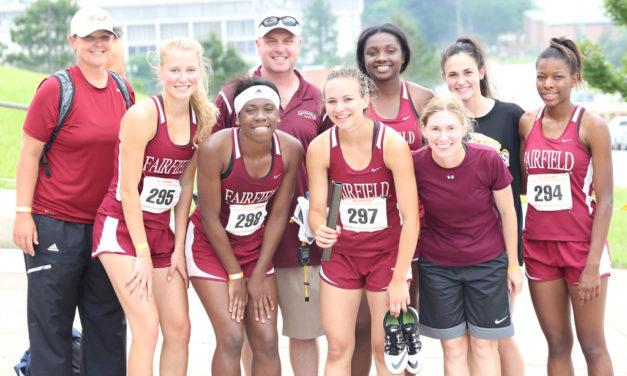 FHS Relay Team Breaks School Record at Regional Track Meet