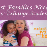 Local Host Families Needed for Cultural Exchange