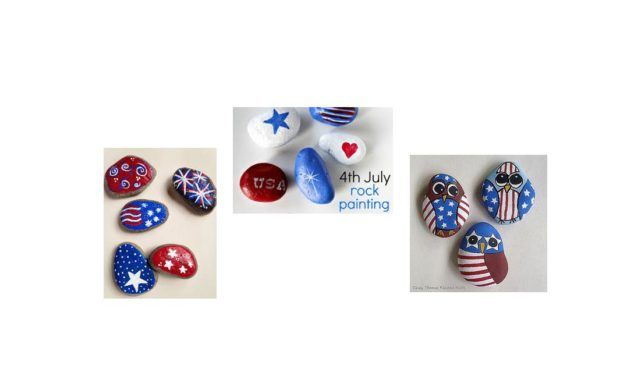 New Activity This Summer in Fairfield:  Rock Painting!