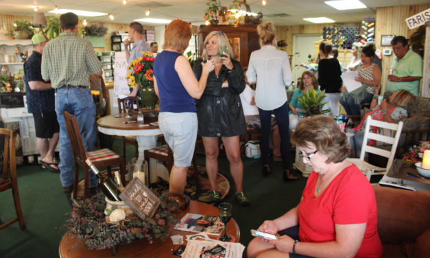 Wine Tasting Enjoyed at Monthly Business After Hours