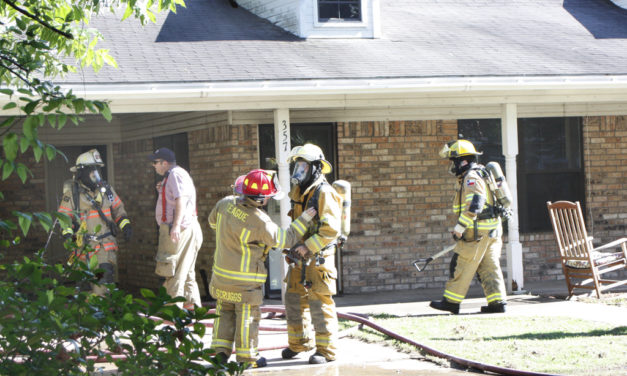 Fire at Fairfield Residence, Three VFDs Respond