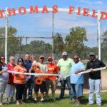 Thomas Field Immortalizes Teague Fan