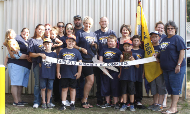 Scouts Join Fairfield Chamber