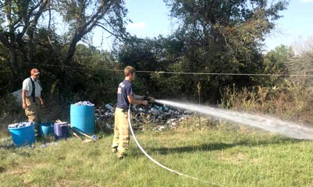Butler Grass Fire Battle