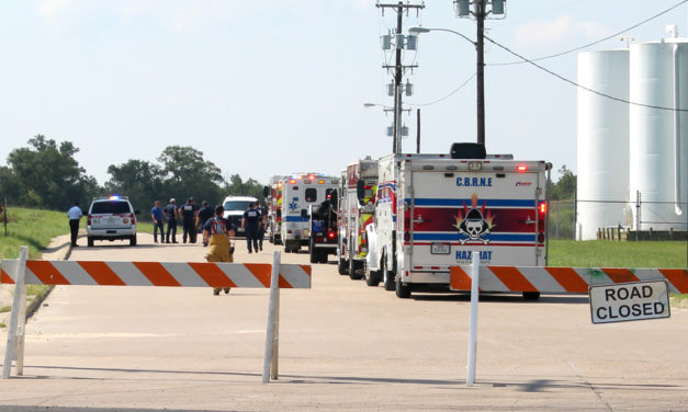Hospital and HazMat Crew Respond to Possible Contamination at Fairfield Industrial Park