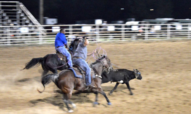 Almost 150 Teams Compete is FVFD's First Team Roping Event