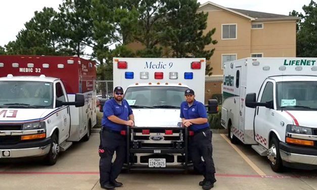 Fairfield EMS Reports for Duty During Hurricane Harvey Rescues on TX Coast