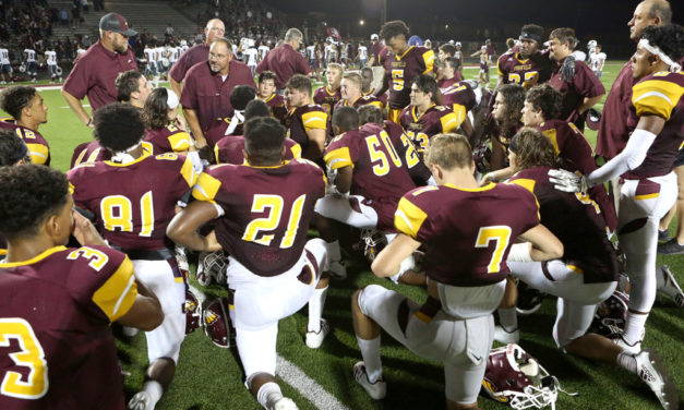 Eagles Dominate Wildcats 34-6