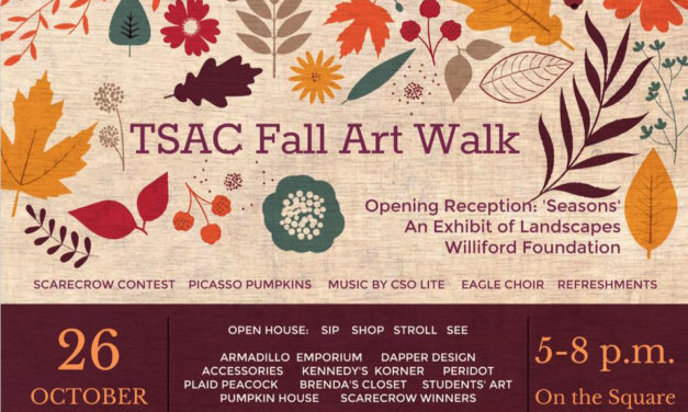 Fall Art Walk Showcases Music, Art, Boutiques, & Scarecrows