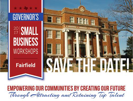 Register Online TODAY for the Governor's Small Business Workshop This Week in Fairfield