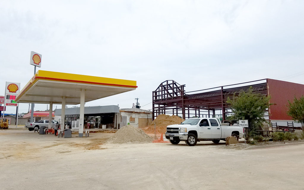 Jolly's Shell Station Undergoes Expansion