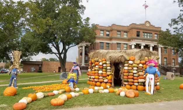 Pumpkin House in Downtown Fairfield Perfect for Photos