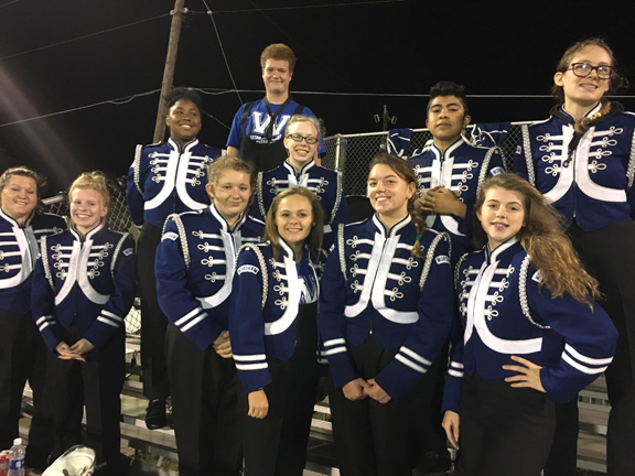 Wortham Band Members Recognized