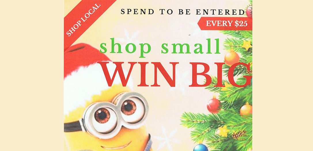 Friday, Dec. 15th is LAST CHANCE to shop small and WIN BIG – Winners Announced Saturday