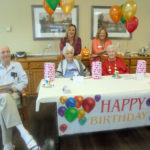 Dogwood Trails Residents Celebrate Birthdays