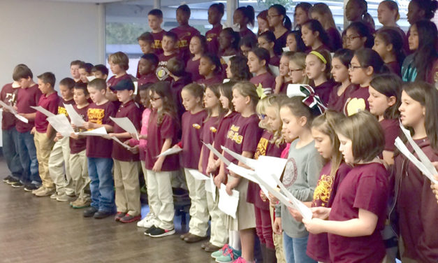 FISD Intermediate School Choir Performs Veteran's Day Tribute