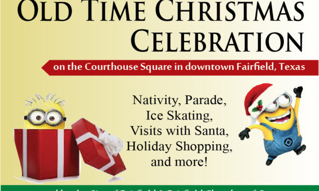 Mark Your Calendars for These Holiday Events in Your Hometown of Fairfield, Texas