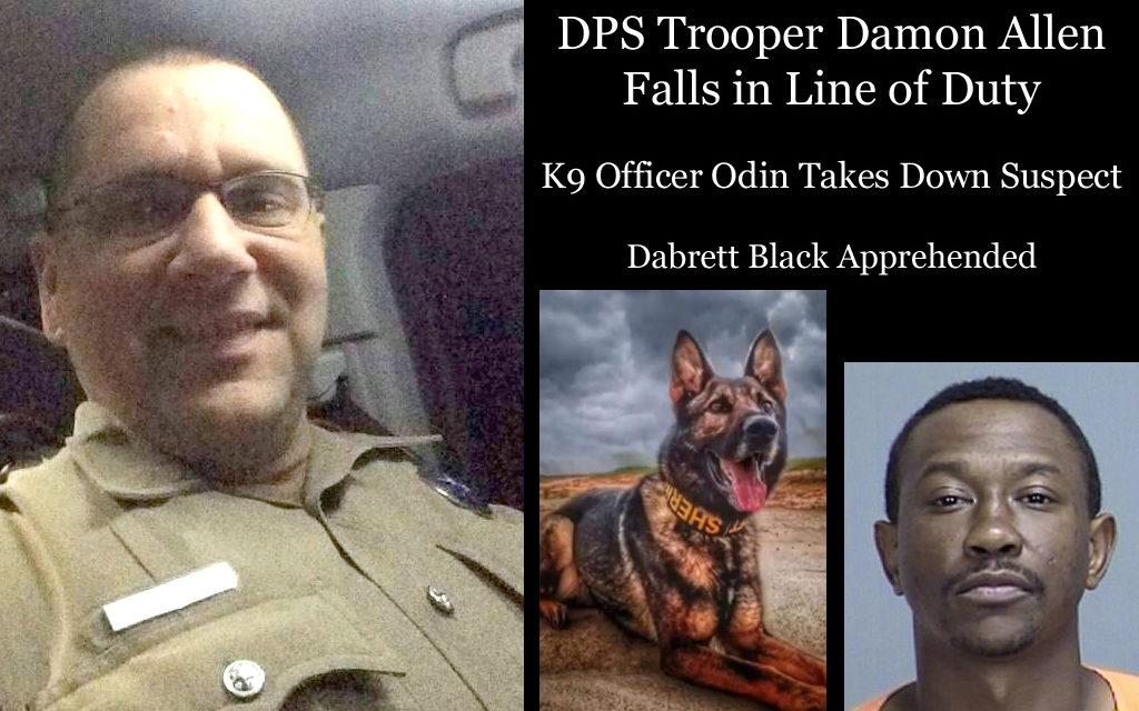DPS Trooper Shot Down Near Fairfield – Suspect Apprehended
