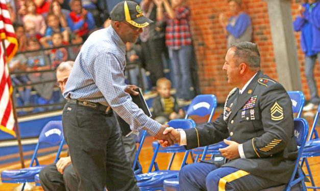 Wortham ISD Honors Veterans
