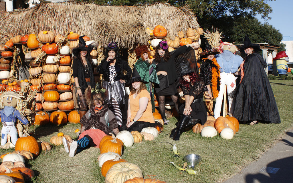 Do-Gooder Witches Take Inaugural Ride