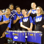 Percussion Wortham High School Band's Section of the Week