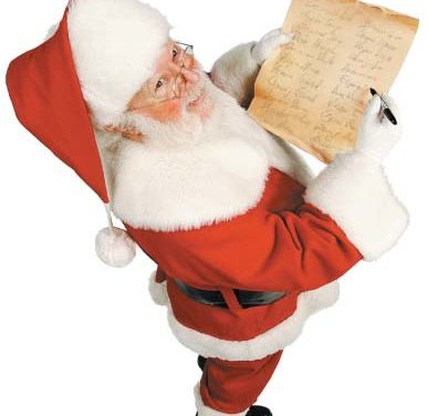 Santa Claus is Coming to a Town Near You…