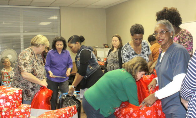 Freestone County CPS Board Delivers Christmas Cheer