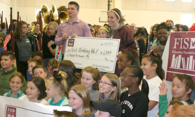 Big Checks to Fairfield Teachers – Almost $13K in Funding