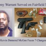 No Where to Hide, Or Run As Felony Warrant Served on Fairfield Man