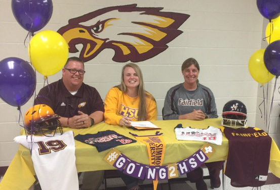 FHS Athlete Signs with HSU