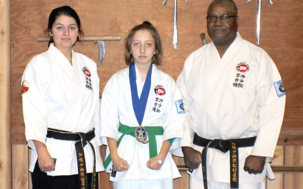 County Youth Takes State Title at Karate Tournament