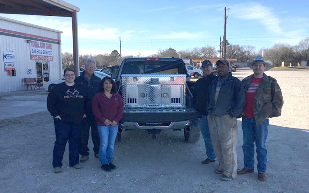 Teague Animal Control Back Up and Running