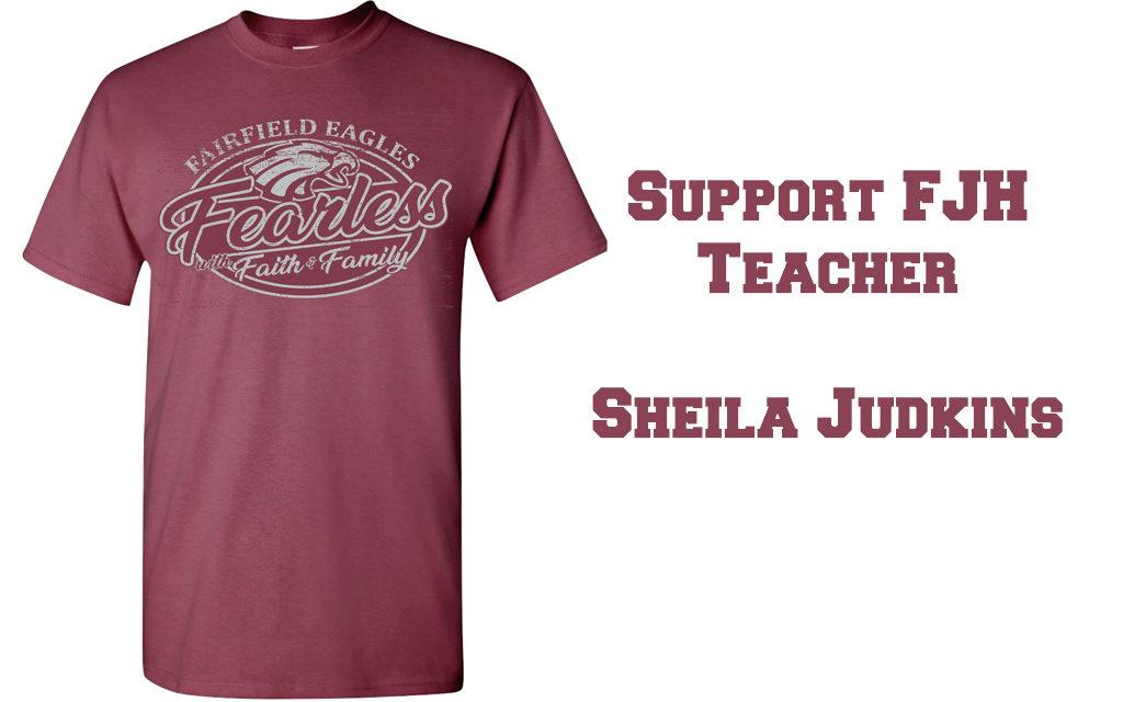 T-Shirt Fundraiser for Fairfield Teacher