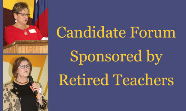 Education Issues Addressed by Candidates at Forum