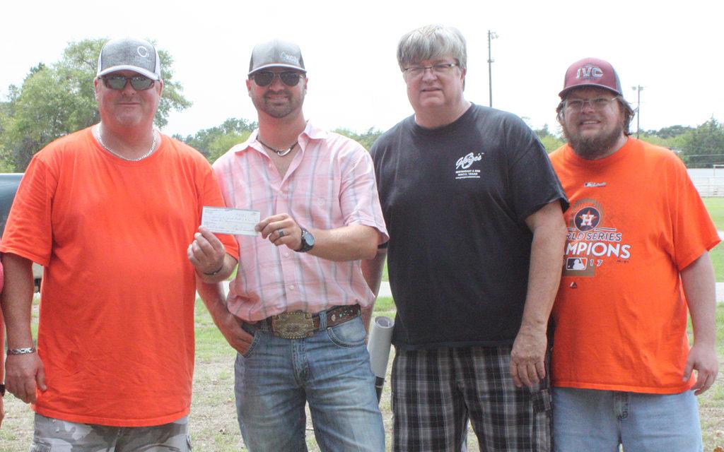 Keechi Creek Oilfield Services Donates $2,000 to Big T